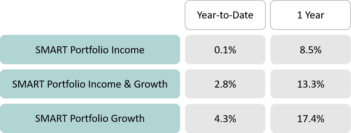 SMART Portfolio Performance 2021 May